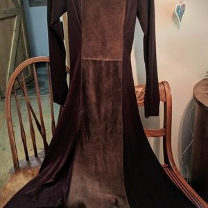Unique Boston Proper Suede Dress